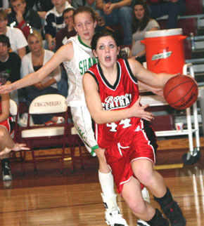 Boone Central Girl Basketball Player