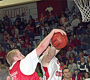 Husker Victory Haines Rejects Shot