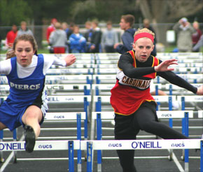 Megan Bygland returns to state in hurdles