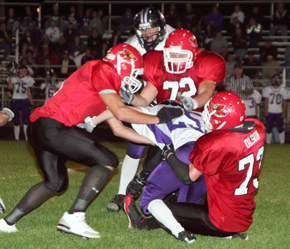 Card tacklers swarm Panther