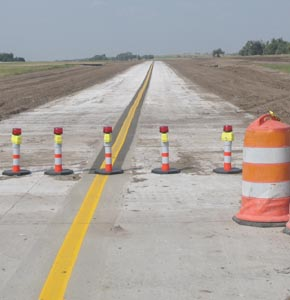 New Airport Taxiway