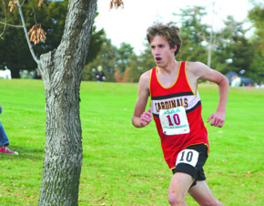 Kevin Carder hits the home stretch