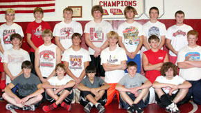 2008-09 Boone Central Wrestlers