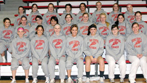 Cardinal Girls Track, Field Team