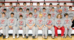 Boone Central Boys Track, Field Squad