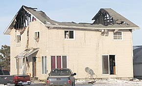 Rural Albion home was destroyed by fire Jan. 12
