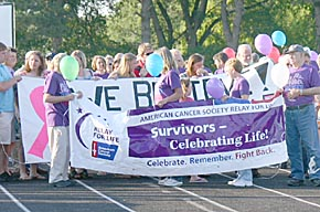 Relay for Life, Survivor's Lap.