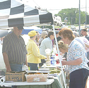 First Albion Country Market held June 4.