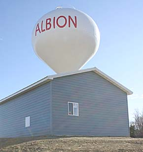 New Albion city well