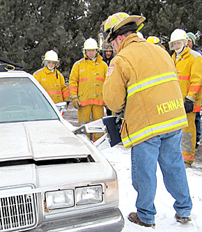 'Jaws of Life' demonstration in Petersburg.