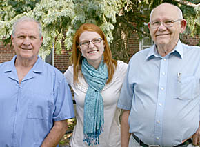 Dr. Kate Kusek is joining Dr. Sam McMillan, left, and Dr. John Williams, right, at the Albion Dental Clinic.