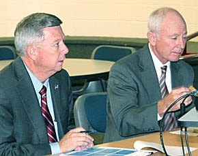Governor visits Boone Central.