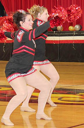 Boone Central Rubies members perform in the Jan. 13 contest.