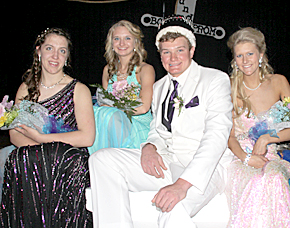 Boone Central prom royalty