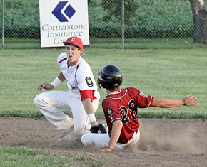 Pierce Koch with the tag
