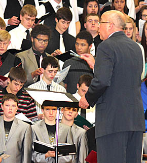 Boone Central Choral Clinic Concert