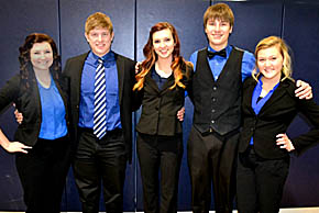 Boone Central OID team was among the state qualifiers.