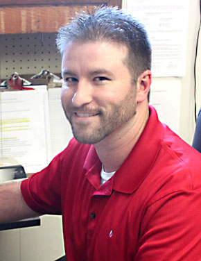Justin Gould, new Sourcegas manager in Albion