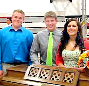 Boone Central outstanding senior musicians.