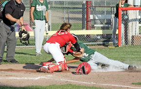 Jackson Meyer with the tag