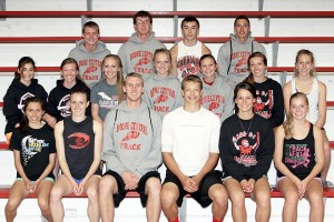 17 Cardinals on way to state track/field