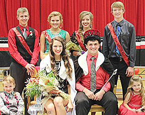 Boone Central's 2015 Color Day royalty.