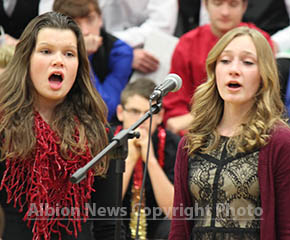 web, 1-20, singers at BC Choral Clinic