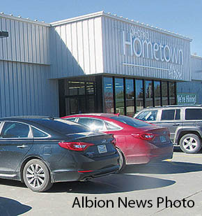 Hometown Shopko in Albion is being prepared for opening.