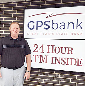 Todd Heithoff is a new officer at Great Plains State Bank in Petersburg.