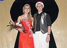 Boone Central Prom royalty.