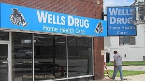 New Wells Drug Home Health store.