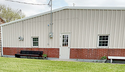 A new paint job has improved the appearance of the Boone County Museum.