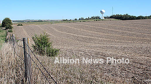 Boone County Commissioners are proceeding with purchase of this land south of the fairgrounds.