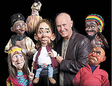 Entertainer Marc Rubben will be bringing all these characters to Petersburg.