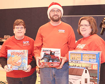 Boone County Toys for Tots volunteers.
