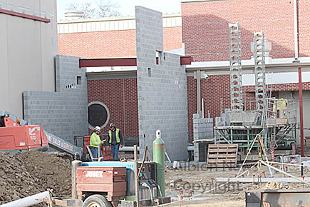 Boone Central Schools construction was an on-going top story of 2016.