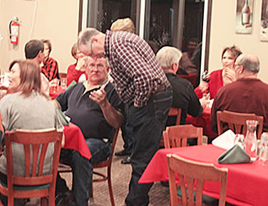 Boone County residents gathered Friday night at the Albion Country Club to celebrate the successful event.