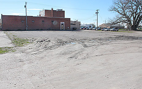 REDEVELOPMENT PLANS -- Albion Planning Commission approved replatting of the former Billy Bob's lot for a new business building.