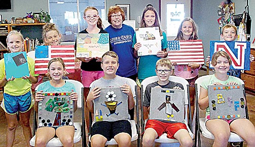 Art camp participants.