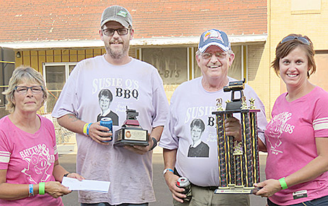 Clint and Cliff Palmer collected first place trophies in the People's Choice competition.