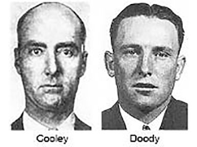 Chief suspects Marvin Cooley and Charles Doody.
