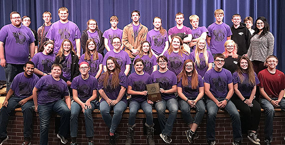 St  Edward one-act team wins Goldenrod Conference title